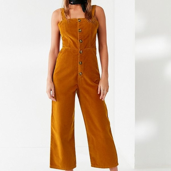 16f460d520d NWT Urban Outfitters Corduroy Dungaree Jumpsuit